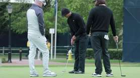 On Tuesday at Bethpage Black, Tiger Woods said