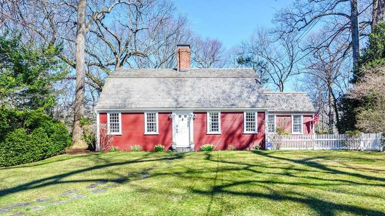 The home, which is on a .47-acre lot,