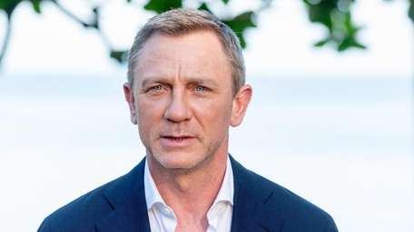 "Daniel Craig attends the ""Bond 25"" film"
