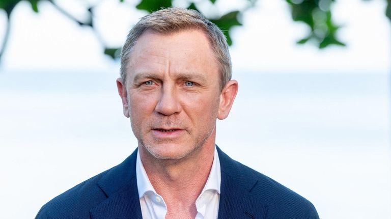 "Daniel Craig attends the ""Bond 25"" film"