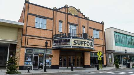 Suffolk Theater on East Main Street in Riverhead