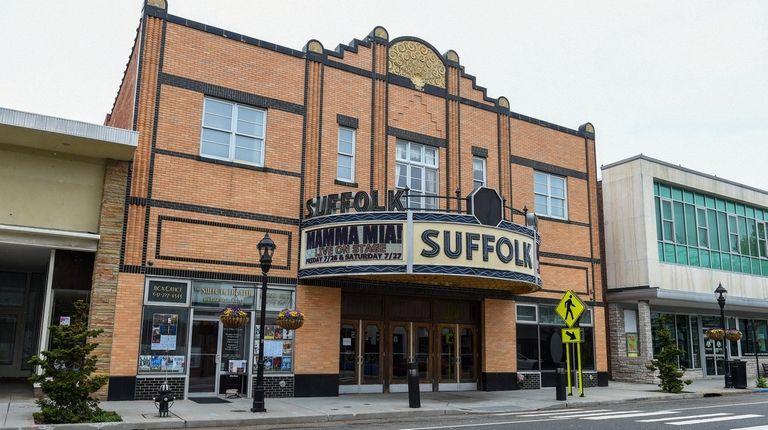 Suffolk Theater on East Main Street in Riverhead