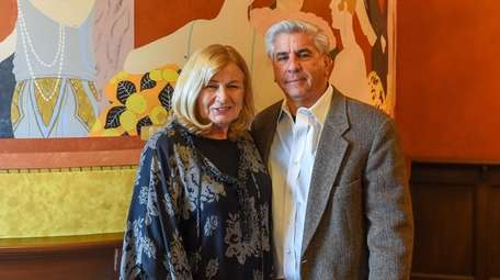 Dianne and Bob Castaldi, owners of the Suffolk