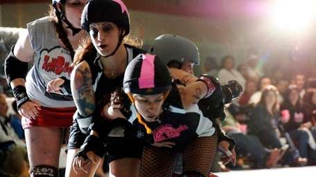 The Long Island Roller Rebels will be having