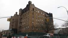 A fire destroyed the One Sunset Park building,