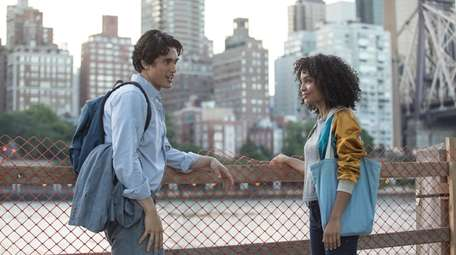 "Charles Melton and Yara Shahidi of ""The Sun"