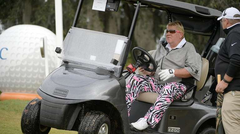 Ride Drive For Once Everyone On John >> Why John Daly S Golf Cart Exemption For Pga Championship At Bethpage