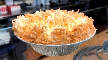 Coconut custard is one of the pie flavors