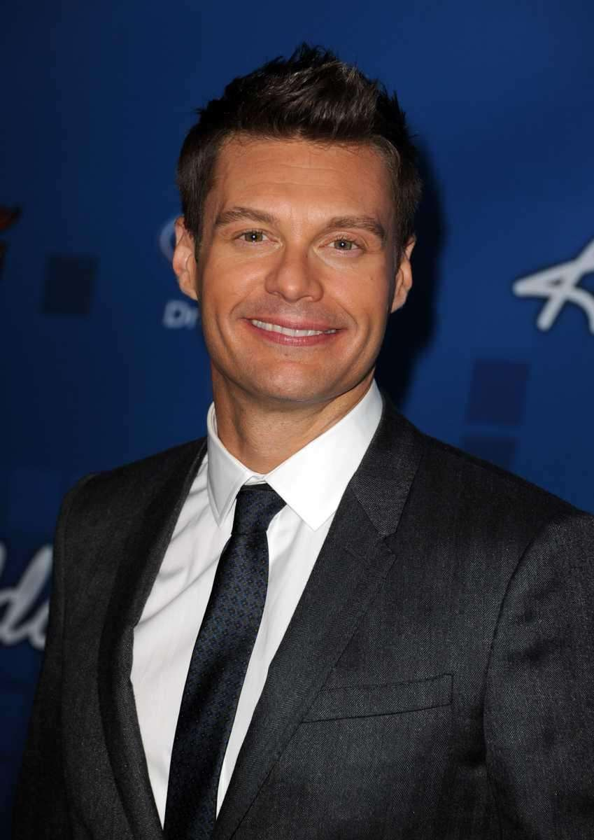 Ryan Seacrest. The E! News, American Idol, and