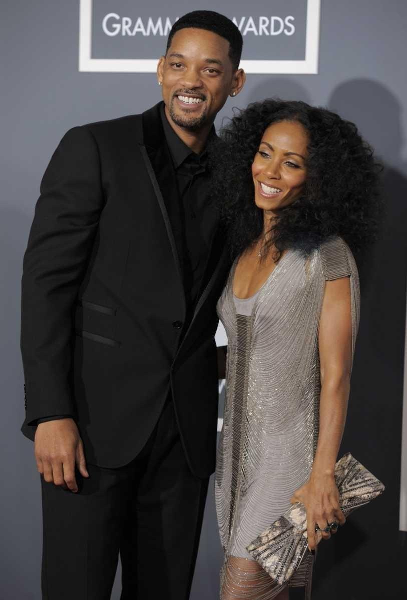 Will Smith and Jada Pinkett Smith. This Hollywood