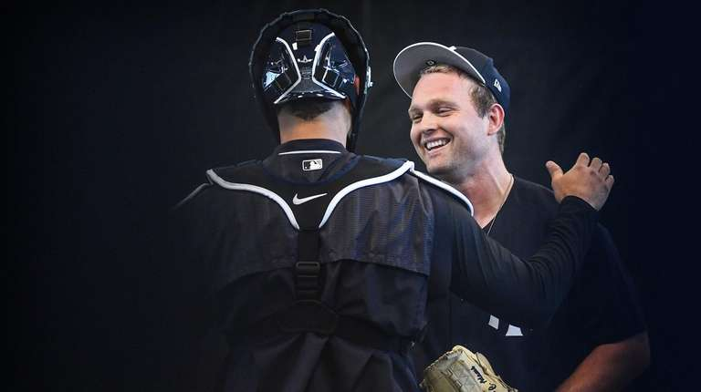 For Adams, a new chance with Yankees