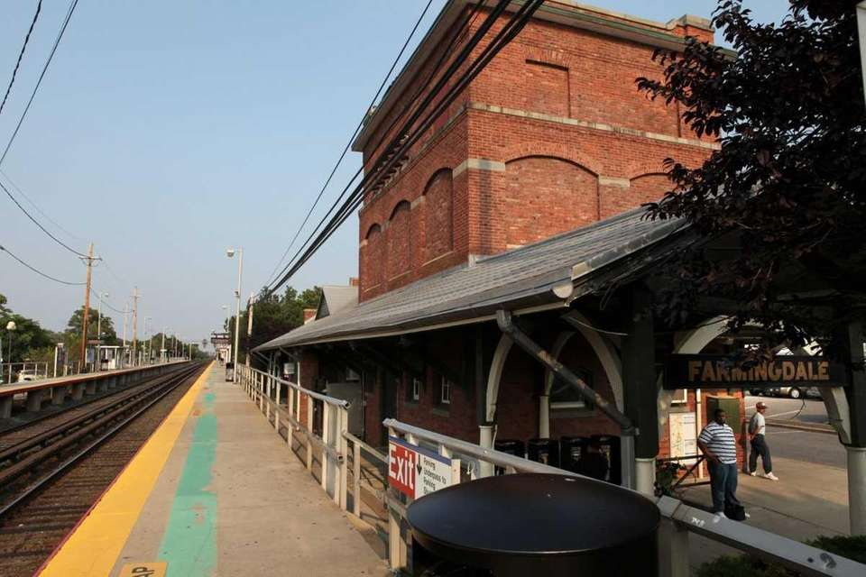 Farmingdale Long Island Rail Road station. This station,