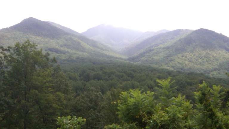 Located in the Great Smoky Mountains, the Smoky