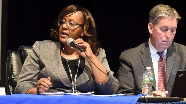 Residents spoke at the budget presentation by the