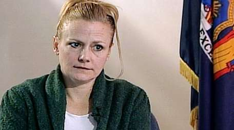 Pamela Smart is seen during an interview at