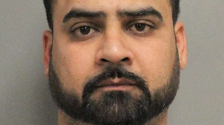 Simarjit Singh, of Levittown, was arrested and charged