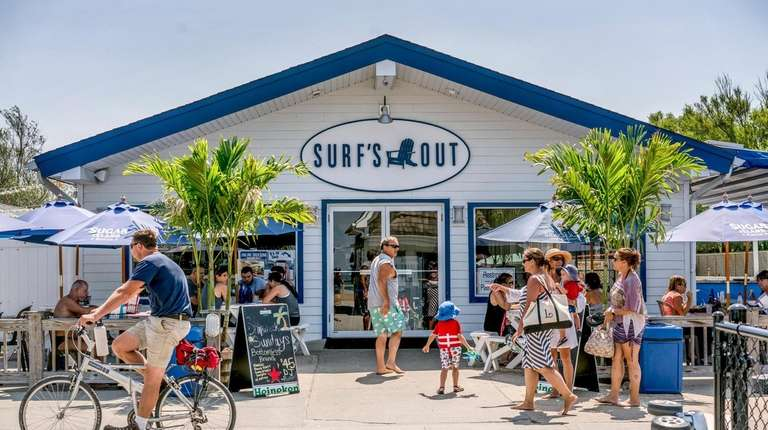 Surf's Out, a popular eatery in Kismet on