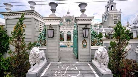 The Venetian-inspired Belvedere Guest House for Men, at