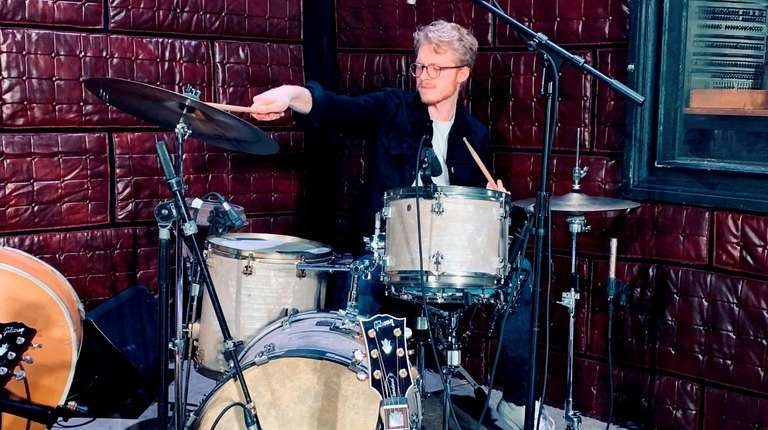 Drummer and East Hampton native Anthony Genovesi is