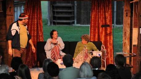 The Mulford Farm Museum hosts repertory theater in