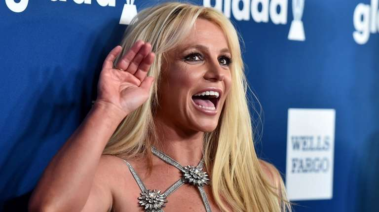 Britney Spears attends the GLAAD Media Awards