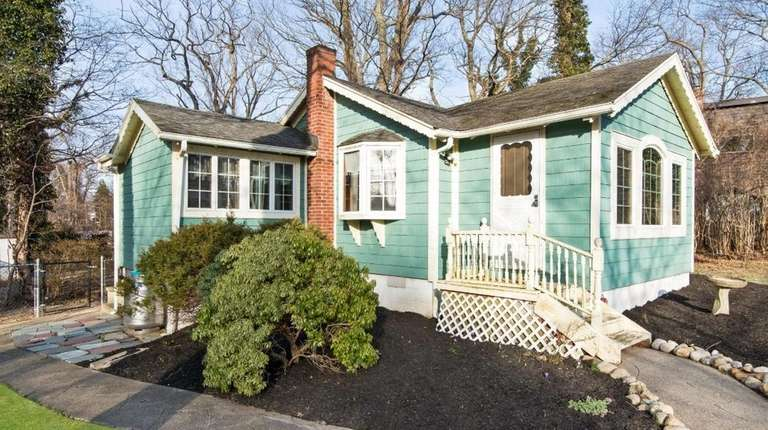 Recently renovated, the 714-square-foot Miller Place home has