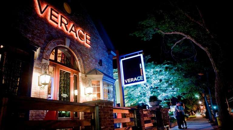 Verace is a stone-faced restaurant in downtown Islip