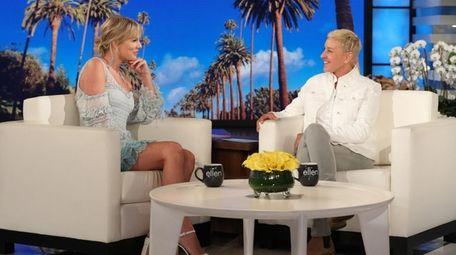 Taylor Swift tells Ellen DeGeneres about her most