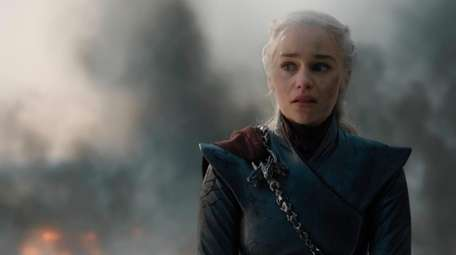 "Emilia Clarke in a scene from ""Game of"