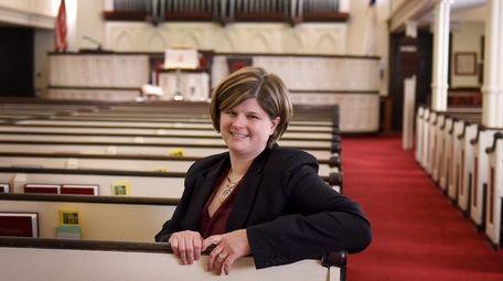 The Rev. Sarah Bigwood, who started her career