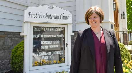 The Rev. Sarah Bigwood will deliver her first