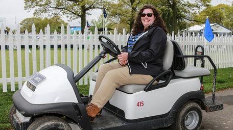Volunteer Jenna Felder at the PGA Championship in