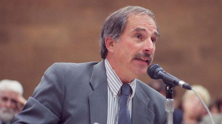 Former Suffolk County personnel director Alan Schneider has