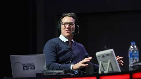 Danny Kanell attends SiriusXM at Super Bowl LIII
