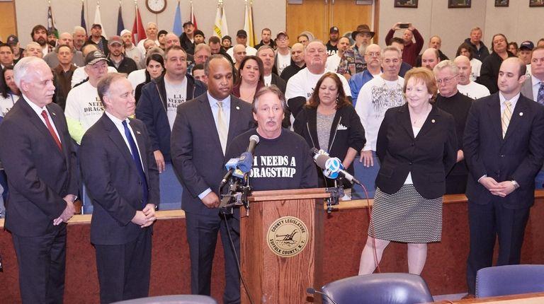 Long Island Needs A Dragstrip founder John Cozzali