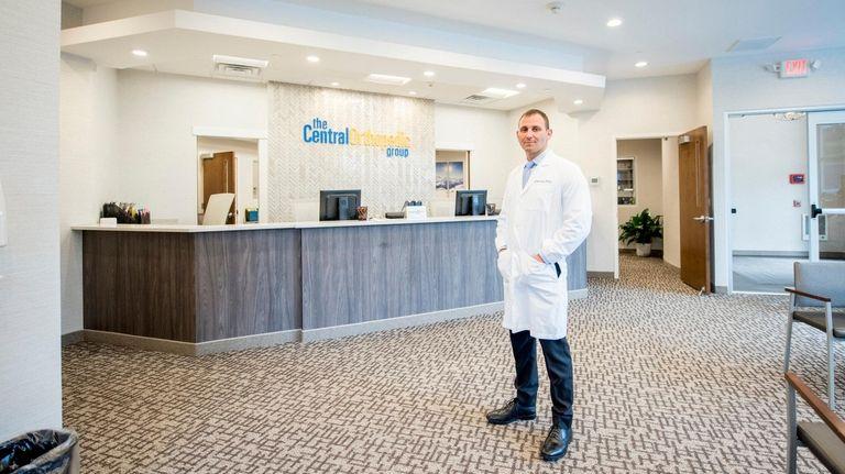 Dr. Jordan Kerker of Central Orthopedic Group in
