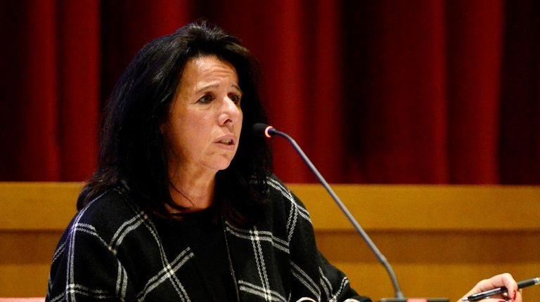 Glen Cove Superintendent Maria Rianna, seen at a