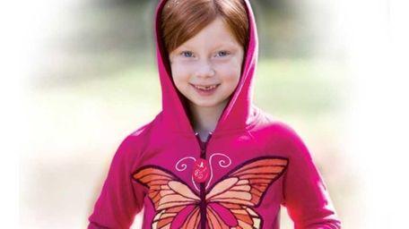 An 8-year-old's winning sweatshirt design for ByKidsOnly.