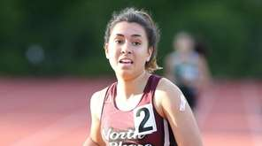 North Shore's Nicole Schneider finishes first in the