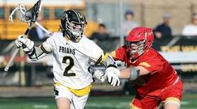 St. Anthony's JAKE bonomi (2) drives against Chaminade's