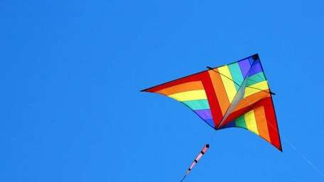 A kite-fly event at Smith Point Park will