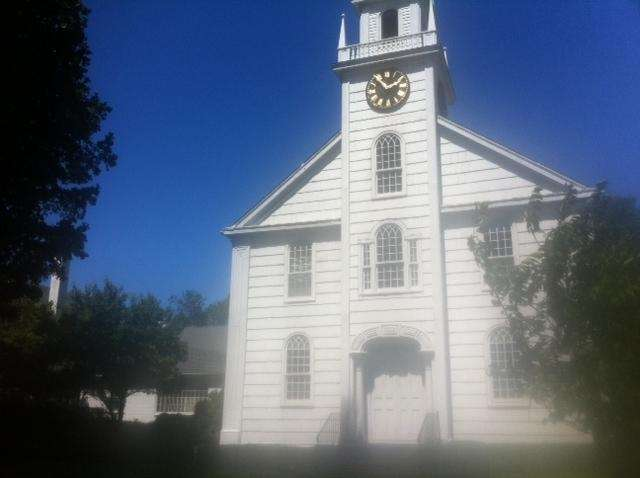 The First Presbyterian Church of Smithtown was completed