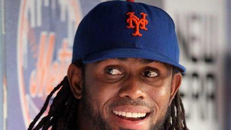 Jose Reyes of the New York Mets looks