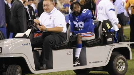 New York Giants running back Brian Witherspoon is