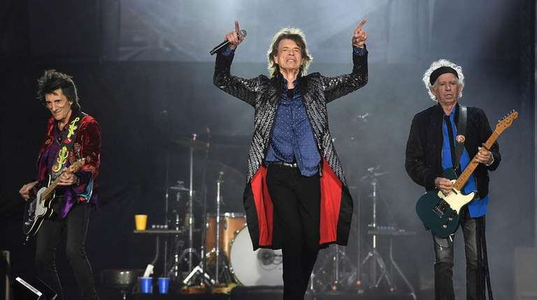 The Rolling Stones perform on the opening night