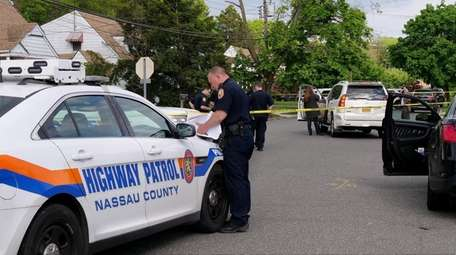 Nassau County police are investigating a pedestrian death
