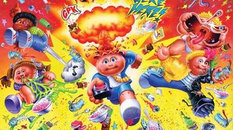 FYE and Topps are launching Garbage Pail Kids