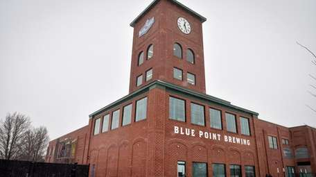 Blue Point Brewing Co.'s recently opened 54,000-square-foot, $40