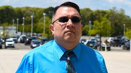 Joseph Zanco of Massapequa arrives at federal court