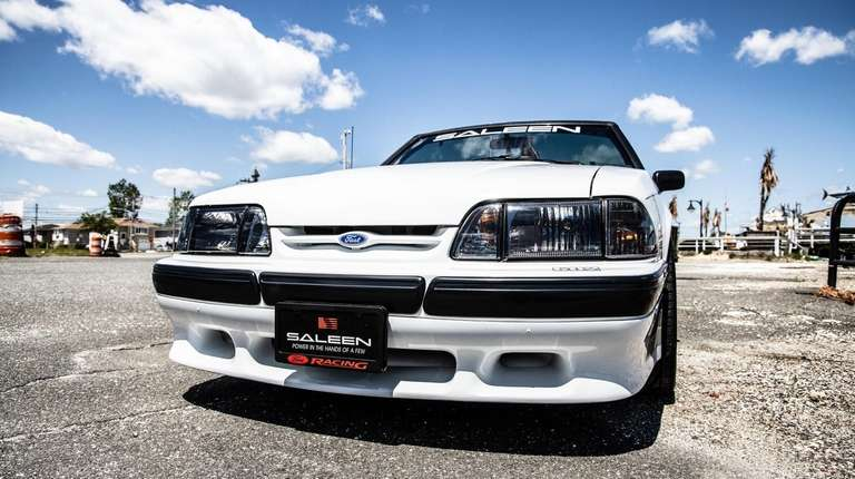 Mike Geraldi's 1988 Saleen Mustang Special Edition convertible